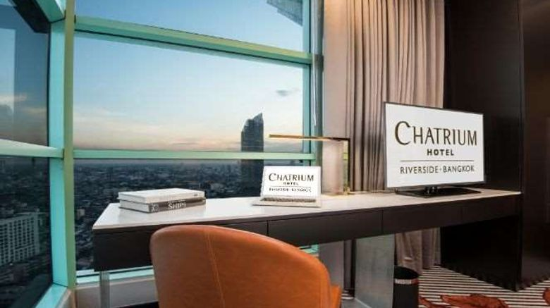 """<b>Chatrium Hotel Riverside Bangkok Lobby</b>. Images powered by <a href=""""https://iceportal.shijigroup.com/"""" title=""""IcePortal"""" target=""""_blank"""">IcePortal</a>."""