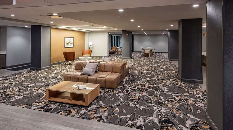 """<b>Trilogy Albany Airpt, Tapestry by Hilton Lobby</b>. Images powered by <a href=""""https://iceportal.shijigroup.com/"""" title=""""IcePortal"""" target=""""_blank"""">IcePortal</a>."""