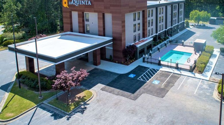 """La Quinta Inn Wyndham Selma/Smithfield Exterior. Images powered by <a href=""""http://web.iceportal.com"""" target=""""_blank"""" rel=""""noopener"""">Ice Portal</a>."""