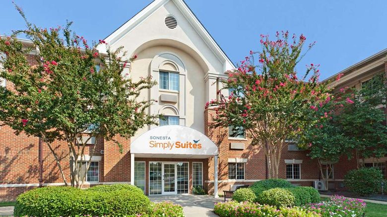 """Sonesta Simply Suites Charlotte Exterior. Images powered by <a href=""""http://web.iceportal.com"""" target=""""_blank"""" rel=""""noopener"""">Ice Portal</a>."""
