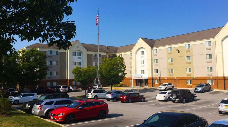 """Sonesta Simply Suites-BWI Airport Exterior. Images powered by <a href=""""http://web.iceportal.com"""" target=""""_blank"""" rel=""""noopener"""">Ice Portal</a>."""