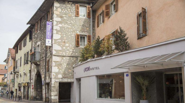 """Adonis Annecy Icone Hotel Exterior. Images powered by <a href=""""http://web.iceportal.com"""" target=""""_blank"""" rel=""""noopener"""">Ice Portal</a>."""