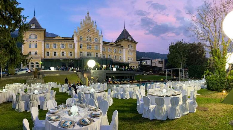 """Grand Hotel Billia Exterior. Images powered by <a href=""""http://web.iceportal.com"""" target=""""_blank"""" rel=""""noopener"""">Ice Portal</a>."""