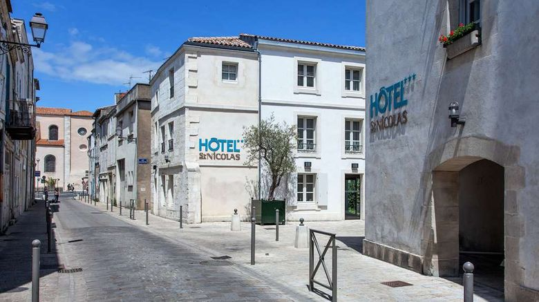 """<b>Hotel Saint-Nicolas Exterior</b>. Images powered by <a href=""""https://iceportal.shijigroup.com/"""" title=""""IcePortal"""" target=""""_blank"""">IcePortal</a>."""