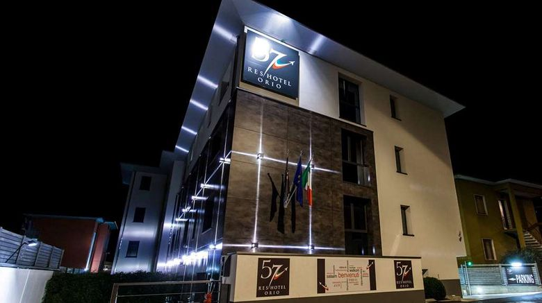 """57 ResHotel Orio al Serio Exterior. Images powered by <a href=""""http://web.iceportal.com"""" target=""""_blank"""" rel=""""noopener"""">Ice Portal</a>."""