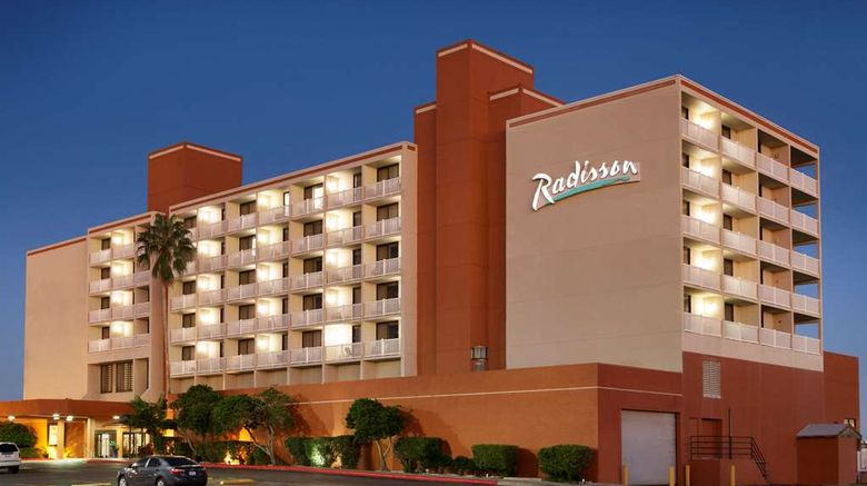 """Radisson Hotel Corpus Christi Beach Exterior. Images powered by <a href=""""http://web.iceportal.com"""" target=""""_blank"""" rel=""""noopener"""">Ice Portal</a>."""