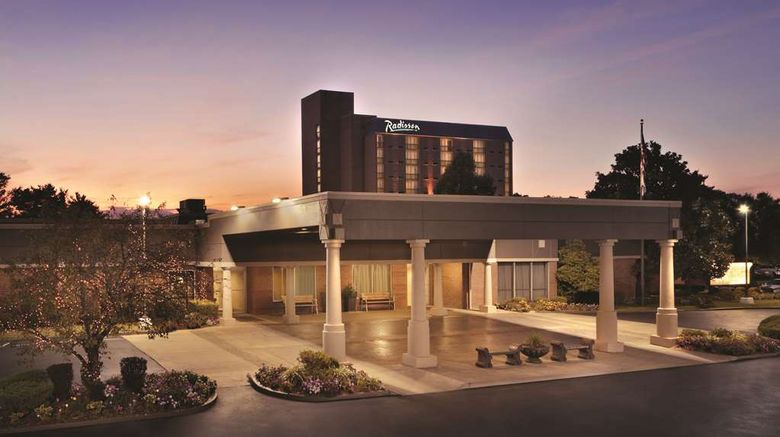 """Radisson Hotel Louisville North Exterior. Images powered by <a href=""""http://web.iceportal.com"""" target=""""_blank"""" rel=""""noopener"""">Ice Portal</a>."""