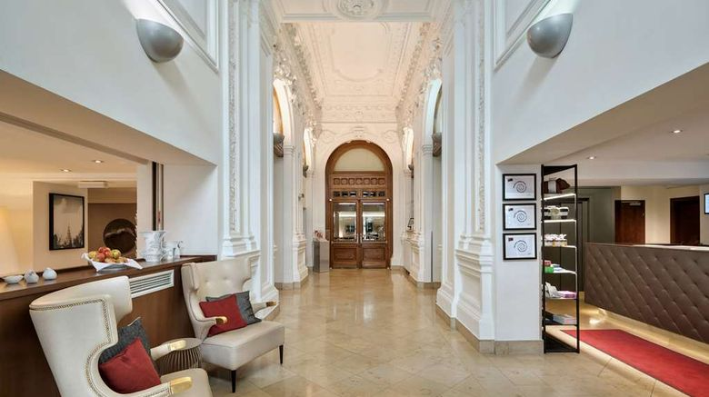 """Hotel Rathauspark, Radisson Individuals Lobby. Images powered by <a href=""""http://web.iceportal.com"""" target=""""_blank"""" rel=""""noopener"""">Ice Portal</a>."""