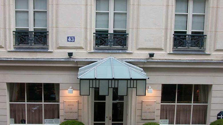 """Hotel le Saint Gregoire Exterior. Images powered by <a href=""""http://web.iceportal.com"""" target=""""_blank"""" rel=""""noopener"""">Ice Portal</a>."""