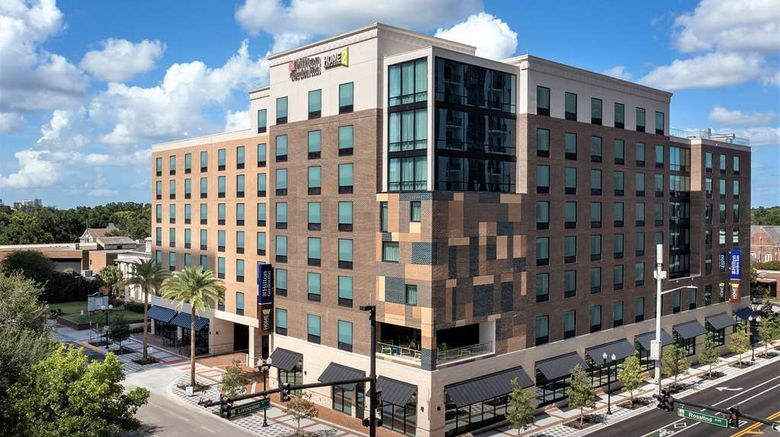 """Home2 Suites by Hilton Orlando Downtown Exterior. Images powered by <a href=""""http://web.iceportal.com"""" target=""""_blank"""" rel=""""noopener"""">Ice Portal</a>."""