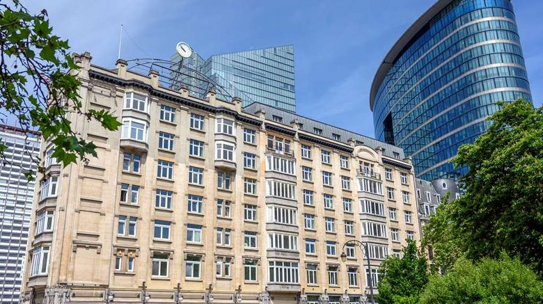 """DoubleTree by Hilton Brussels City Exterior. Images powered by <a href=""""http://web.iceportal.com"""" target=""""_blank"""" rel=""""noopener"""">Ice Portal</a>."""