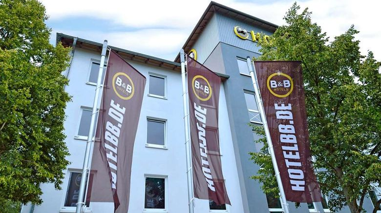 """B and B Hotel Berlin-Dreilinden Exterior. Images powered by <a href=""""http://web.iceportal.com"""" target=""""_blank"""" rel=""""noopener"""">Ice Portal</a>."""
