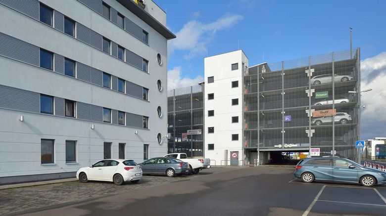 """B and B Hotel Frankfurt-Hahn Airport Exterior. Images powered by <a href=""""http://web.iceportal.com"""" target=""""_blank"""" rel=""""noopener"""">Ice Portal</a>."""