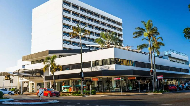 """The Benson Hotel Exterior. Images powered by <a href=""""http://web.iceportal.com"""" target=""""_blank"""" rel=""""noopener"""">Ice Portal</a>."""