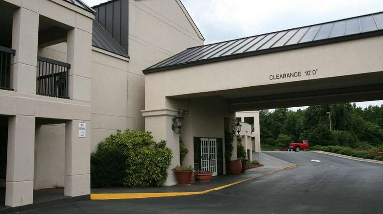 """Travelodge by Wyndham Roanoke Exterior. Images powered by <a href=""""http://web.iceportal.com"""" target=""""_blank"""" rel=""""noopener"""">Ice Portal</a>."""