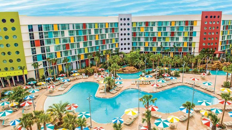 """Universals Cabana Bay Beach Resort Exterior. Images powered by <a href=""""http://web.iceportal.com"""" target=""""_blank"""" rel=""""noopener"""">Ice Portal</a>."""