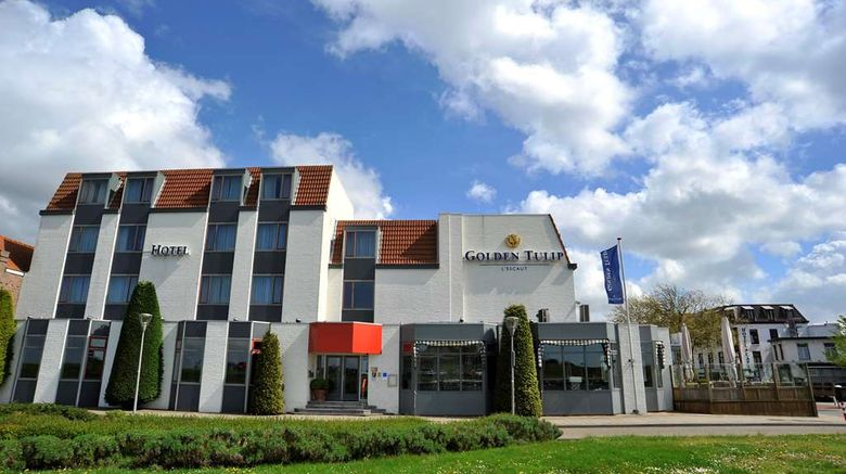"""Golden Tulip LEscaut Hotel Exterior. Images powered by <a href=""""http://web.iceportal.com"""" target=""""_blank"""" rel=""""noopener"""">Ice Portal</a>."""