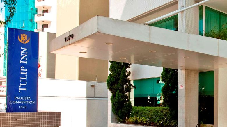 """Tulip Inn Sao Paulo Paulista Exterior. Images powered by <a href=""""http://web.iceportal.com"""" target=""""_blank"""" rel=""""noopener"""">Ice Portal</a>."""