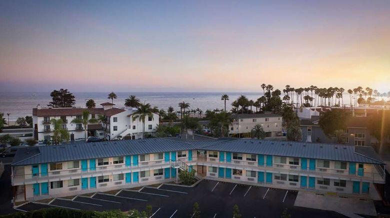 """Motel 6 Santa Barbara Beach Exterior. Images powered by <a href=""""http://web.iceportal.com"""" target=""""_blank"""" rel=""""noopener"""">Ice Portal</a>."""