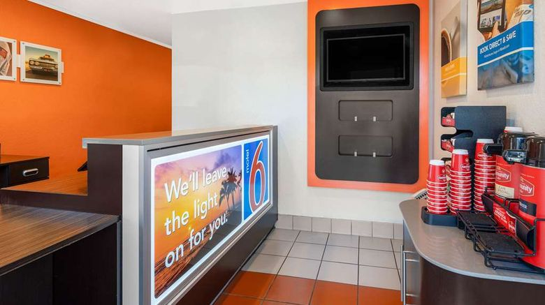 """<b>Motel 6 Santa Barbara State Street Lobby</b>. Images powered by <a href=""""https://iceportal.shijigroup.com/"""" title=""""IcePortal"""" target=""""_blank"""">IcePortal</a>."""