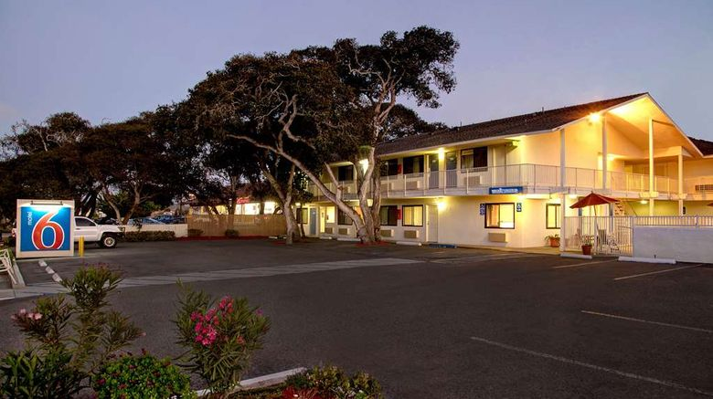 """Motel 6 Monterey Exterior. Images powered by <a href=""""http://web.iceportal.com"""" target=""""_blank"""" rel=""""noopener"""">Ice Portal</a>."""