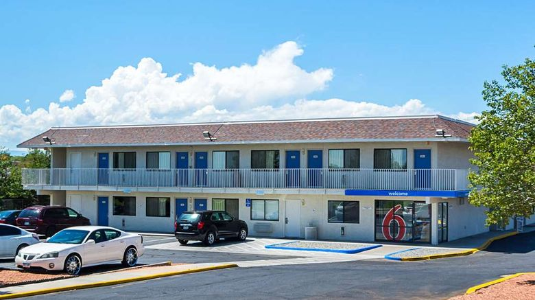 """Motel 6 Pueblo I-25 Exterior. Images powered by <a href=""""http://web.iceportal.com"""" target=""""_blank"""" rel=""""noopener"""">Ice Portal</a>."""