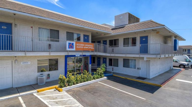 """Motel 6 Riverside West - Jurupa Valley Exterior. Images powered by <a href=""""http://web.iceportal.com"""" target=""""_blank"""" rel=""""noopener"""">Ice Portal</a>."""