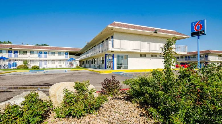 """Motel 6 Denver - Thornton Exterior. Images powered by <a href=""""http://web.iceportal.com"""" target=""""_blank"""" rel=""""noopener"""">Ice Portal</a>."""