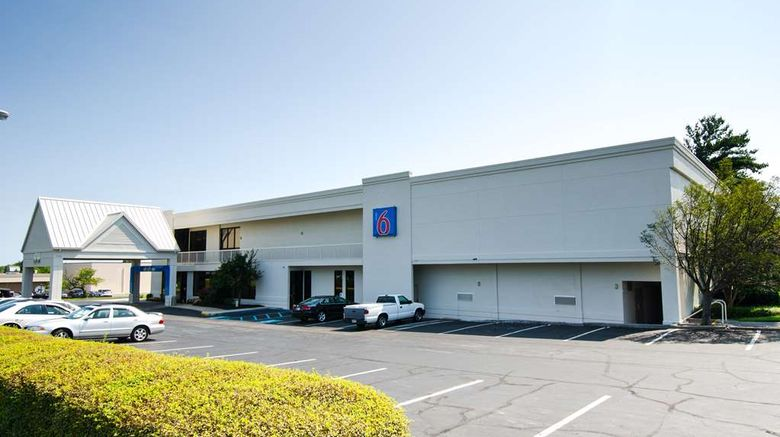 """Motel 6 Frederick MD Fort Detrick Exterior. Images powered by <a href=""""http://web.iceportal.com"""" target=""""_blank"""" rel=""""noopener"""">Ice Portal</a>."""