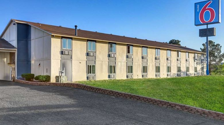 """Motel 6 Silver City Exterior. Images powered by <a href=""""http://web.iceportal.com"""" target=""""_blank"""" rel=""""noopener"""">Ice Portal</a>."""