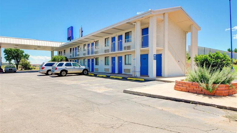 """Motel 6 Oklahoma City North Exterior. Images powered by <a href=""""http://web.iceportal.com"""" target=""""_blank"""" rel=""""noopener"""">Ice Portal</a>."""
