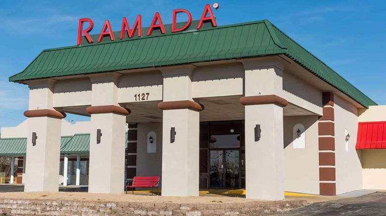 """Ramada Mountain Home Exterior. Images powered by <a href=""""http://web.iceportal.com"""" target=""""_blank"""" rel=""""noopener"""">Ice Portal</a>."""
