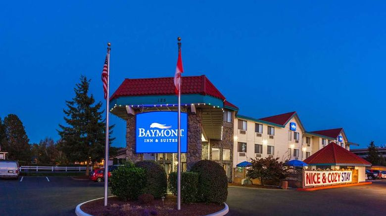 """Baymont Inn  and  Suites Bellingham Exterior. Images powered by <a href=""""http://web.iceportal.com"""" target=""""_blank"""" rel=""""noopener"""">Ice Portal</a>."""