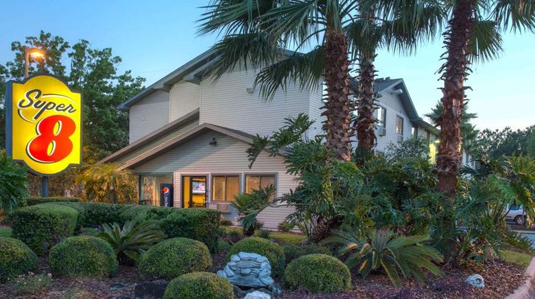 """Super 8 Gainesville Exterior. Images powered by <a href=""""http://web.iceportal.com"""" target=""""_blank"""" rel=""""noopener"""">Ice Portal</a>."""