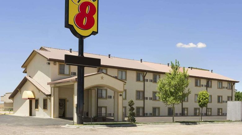 """Super 8 Amarillo Exterior. Images powered by <a href=""""http://web.iceportal.com"""" target=""""_blank"""" rel=""""noopener"""">Ice Portal</a>."""