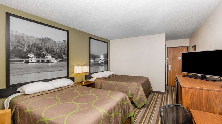 """<b>Super 8 Storm Lake Room</b>. Images powered by <a href=""""https://iceportal.shijigroup.com/"""" title=""""IcePortal"""" target=""""_blank"""">IcePortal</a>."""