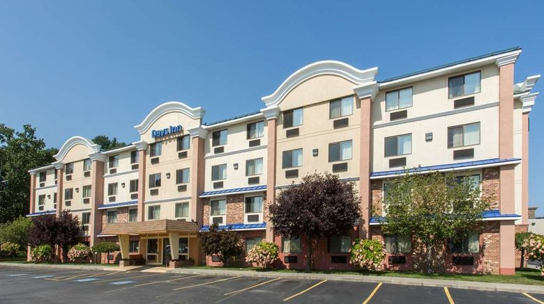 """Days Inn Leominster/Fitchburg Area Exterior. Images powered by <a href=""""http://web.iceportal.com"""" target=""""_blank"""" rel=""""noopener"""">Ice Portal</a>."""