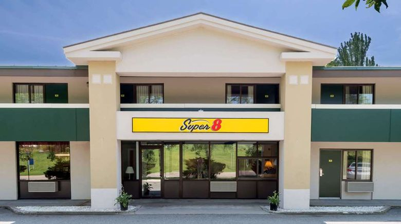 """Super 8 White River Junction Exterior. Images powered by <a href=""""http://web.iceportal.com"""" target=""""_blank"""" rel=""""noopener"""">Ice Portal</a>."""