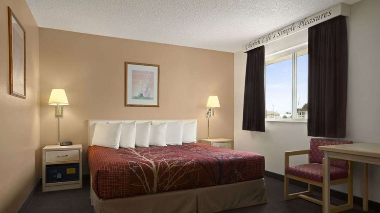"""<b>Super 8 Scottsbluff Room</b>. Images powered by <a href=""""https://iceportal.shijigroup.com/"""" title=""""IcePortal"""" target=""""_blank"""">IcePortal</a>."""