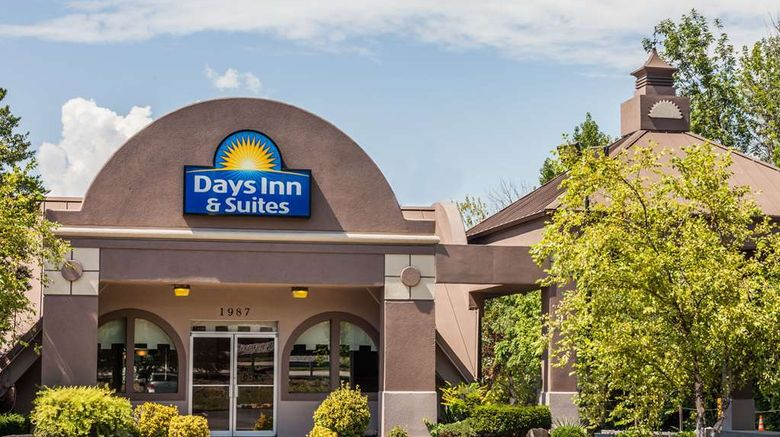 """Days Inn  and  Suites Lexington Exterior. Images powered by <a href=""""http://web.iceportal.com"""" target=""""_blank"""" rel=""""noopener"""">Ice Portal</a>."""