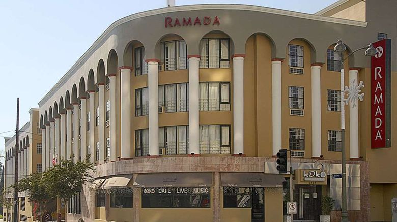 """Ramada Los Angeles/Wilshire Center Exterior. Images powered by <a href=""""http://web.iceportal.com"""" target=""""_blank"""" rel=""""noopener"""">Ice Portal</a>."""