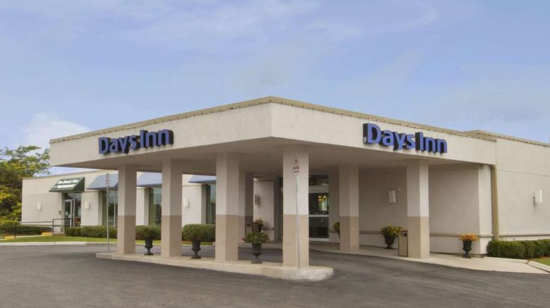 """Days Inn London Exterior. Images powered by <a href=""""http://web.iceportal.com"""" target=""""_blank"""" rel=""""noopener"""">Ice Portal</a>."""