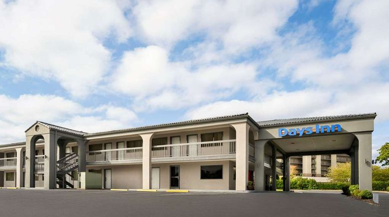 """Days Inn Anderson Exterior. Images powered by <a href=""""http://web.iceportal.com"""" target=""""_blank"""" rel=""""noopener"""">Ice Portal</a>."""