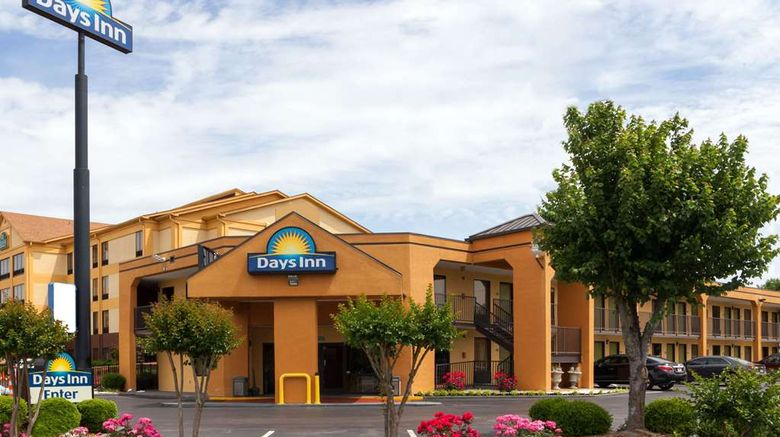 """Days Inn Memphis - I40 and Sycamore View Exterior. Images powered by <a href=""""http://web.iceportal.com"""" target=""""_blank"""" rel=""""noopener"""">Ice Portal</a>."""