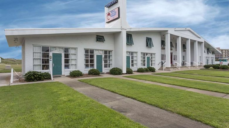 """Days Inn Kill Devil Hills Oceanfront Exterior. Images powered by <a href=""""http://web.iceportal.com"""" target=""""_blank"""" rel=""""noopener"""">Ice Portal</a>."""