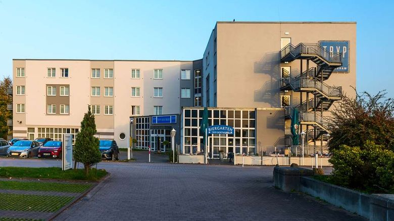 """Tryp Dortmund Exterior. Images powered by <a href=""""http://web.iceportal.com"""" target=""""_blank"""" rel=""""noopener"""">Ice Portal</a>."""