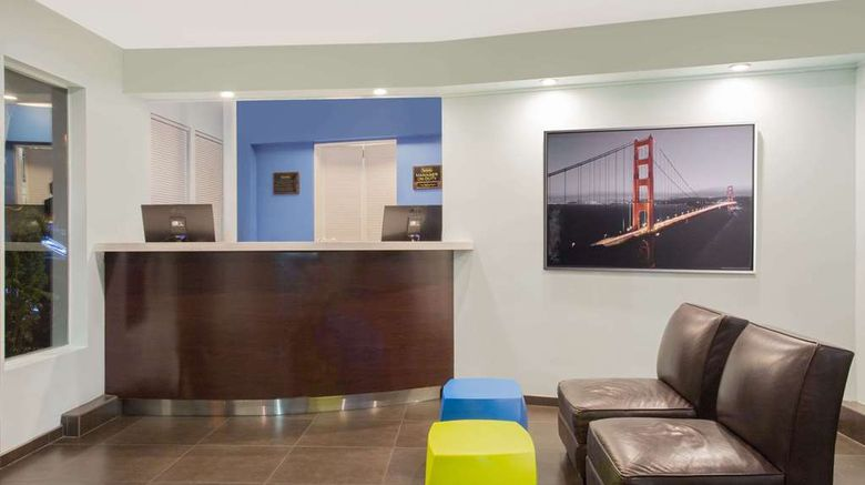 """<b>Travelodge San Francisco Central Lobby</b>. Images powered by <a href=""""https://iceportal.shijigroup.com/"""" title=""""IcePortal"""" target=""""_blank"""">IcePortal</a>."""
