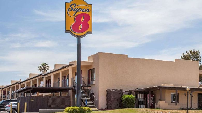 """Super 8 Barstow Exterior. Images powered by <a href=""""http://web.iceportal.com"""" target=""""_blank"""" rel=""""noopener"""">Ice Portal</a>."""