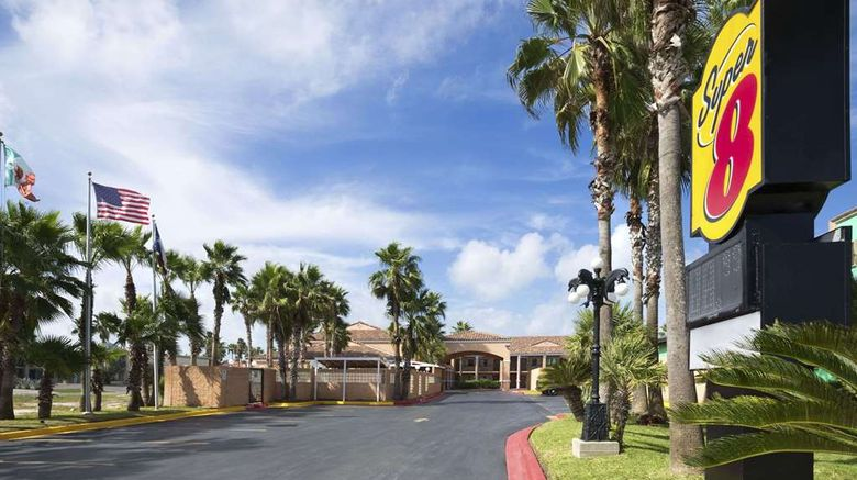 """Super 8 South Padre Island Exterior. Images powered by <a href=""""http://web.iceportal.com"""" target=""""_blank"""" rel=""""noopener"""">Ice Portal</a>."""