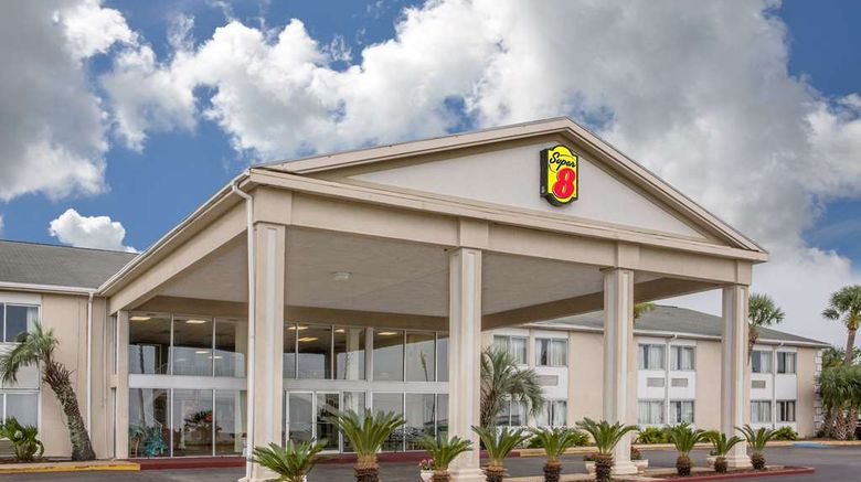"""Super 8 Biloxi Exterior. Images powered by <a href=""""http://web.iceportal.com"""" target=""""_blank"""" rel=""""noopener"""">Ice Portal</a>."""